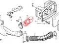 Honda Lead 50 (AF20). Патрубок воздушного ф-ра