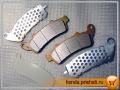 Honda Silverwing. Передние тормозные колодки