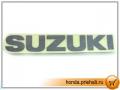 Suzuki Address 110. Наклейка на передний пластик